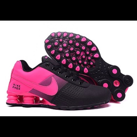 3d2393619d30 Hot New Women s Nike Shox Deliver Black Pink. M 5adf1f2ec9fcdf32651946af.  Other Shoes you may like